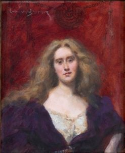 Natalie Barney | Charles Auguste Émile Durand | Oil Painting