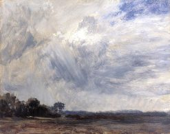 Study of a Cloudy Sky | John Constable | Oil Painting