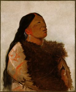 Wife of The Six | George Catlin | Oil Painting