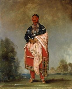 Wife of Kee-o-kúk | George Catlin | Oil Painting