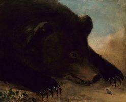 Portraits of a Grizzly Bear and Mouse