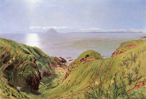Alilsa Craig   William Bell Scott   Oil Painting