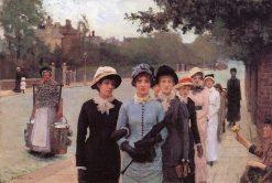 Schoolgirls | Sir George Clausen