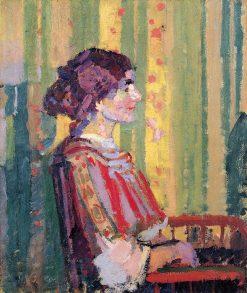 Stanislawa de Karlowska (Mrs. Robert Brown) | Harold Gilman | Oil Painting