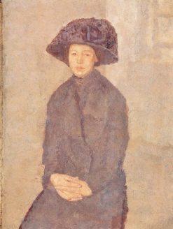 Young Woman | Gwen John | Oil Painting