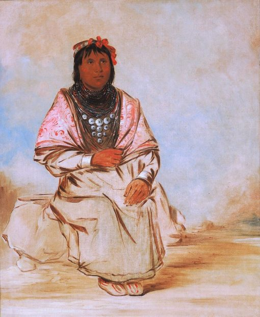 A Seminole Woman | George Catlin | Oil Painting