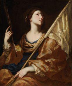 Saint Ursula   Bernardo Cavallino   Oil Painting