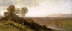 Kanawha River Valley   Samuel Colman   Oil Painting