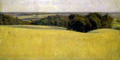 Lengthening Shadows   Kenyon Cox   Oil Painting