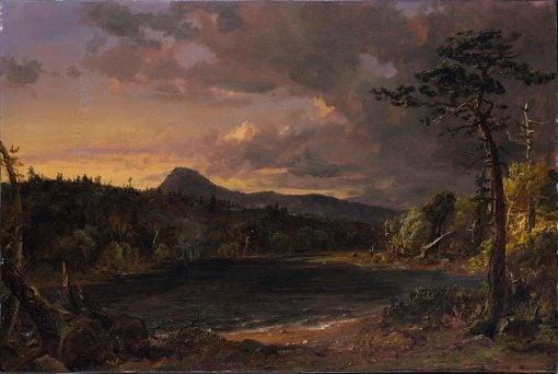 Catskill Creek   Jasper Francis Cropsey   Oil Painting