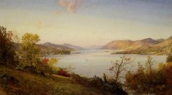 Greenwood Lake | Jasper Francis Cropsey | Oil Painting