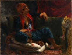 The Smoker | Eugène Delacroix | Oil Painting