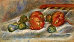 Still Life with Pomegranates and Figs | Pierre Auguste Renoir | Oil Painting
