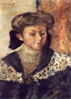 Bust of a Woman | Pierre Bonnard | Oil Painting