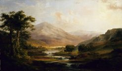 Landscape with Rainbow   Robert Seldon Duncanson   Oil Painting