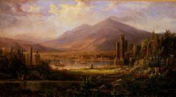 Pompeii   Robert Seldon Duncanson   Oil Painting
