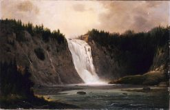 Waterfall on Mont-Morency | Robert Seldon Duncanson | Oil Painting
