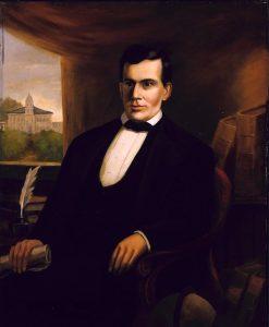 Portrait of Freeman Cary   Robert Seldon Duncanson   Oil Painting