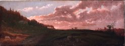 Romantic Landscape   Robert Seldon Duncanson   Oil Painting