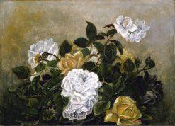 Roses--Fancy Still Life