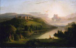 Scotch Highlands   Robert Seldon Duncanson   Oil Painting