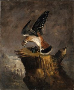 Vulture and Its Prey | Robert Seldon Duncanson | Oil Painting