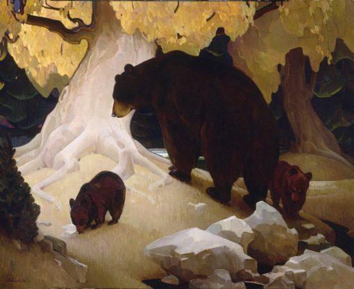 Fall in the Foothills | William Herbert Dunton | Oil Painting