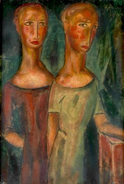 Duality | Alfred Henry Maurer | Oil Painting