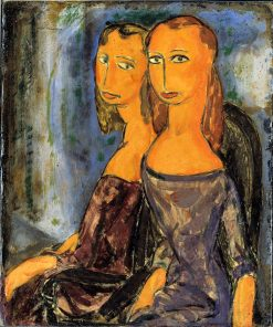 Two Women | Alfred Henry Maurer | Oil Painting