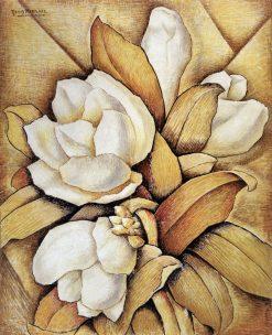Magnolias | Alfredo Ramos Martinez | Oil Painting