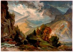 The White Mountains | Thomas Moran | Oil Painting