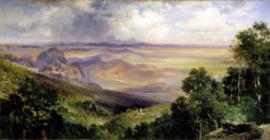 Valley of Cuernavaca | Thomas Moran | Oil Painting
