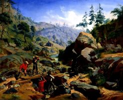 Miners in the Sierras | Charles Christian Nahl | Oil Painting