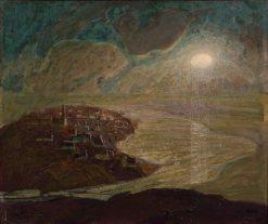 Magic City | John Noble | Oil Painting