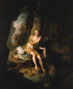 Scene from Don Quixote   John Ritto Penniman   Oil Painting