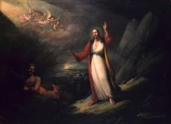 Christ Tempted by the Devil | John Ritto Penniman | Oil Painting