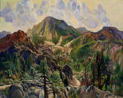 Road in the Cuyamacas   Charles Reiffel   Oil Painting