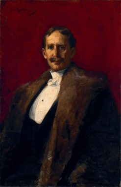 Albert Clifford Barney | Ottillie Wilhelmina Roederstein | Oil Painting