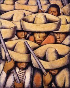 Zapatistas | Alfredo Ramos Martinez | Oil Painting