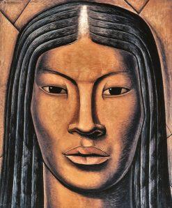 La Malinche | Alfredo Ramos Martinez | Oil Painting