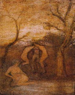 Dancing Dryads   Albert Pinkham Ryder   Oil Painting