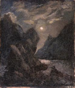 The Lorelei | Albert Pinkham Ryder | Oil Painting