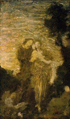 Florizel and Perdita   Albert Pinkham Ryder   Oil Painting
