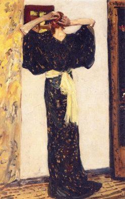 Before the Mirros | George Hendrik Breitner | Oil Painting
