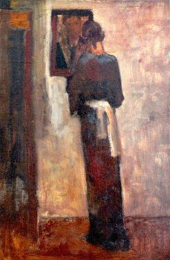 Woman before a Mirror | George Hendrik Breitner | Oil Painting