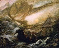 Flying Dutchman   Albert Pinkham Ryder   Oil Painting