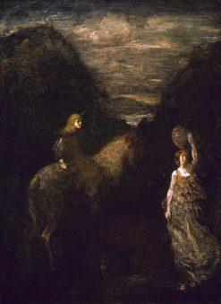 King Cophetua and the Beggar Maid | Albert Pinkham Ryder | Oil Painting