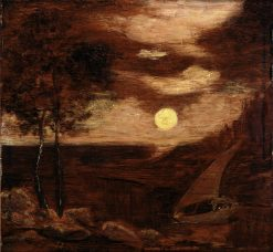 The Lovers' Boat | Albert Pinkham Ryder | Oil Painting