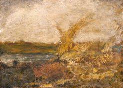 Harvest | Albert Pinkham Ryder | Oil Painting