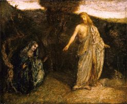 Christ Appearing to Mary | Albert Pinkham Ryder | Oil Painting